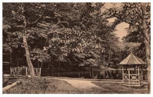 Connecticut  Simsbury , Mrs Woods Grove near the Pond