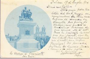 Argentina - Sarmiento Statue - Buenos Aires  1904