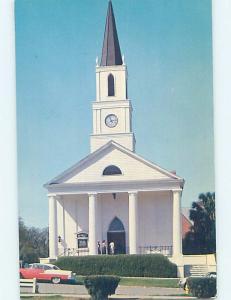 Pre-1980 CHURCH SCENE Tallahassee Florida FL A9112
