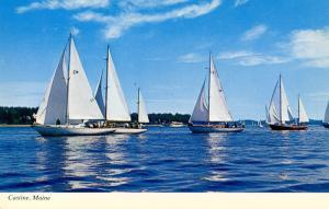 ME - Castine. Retired Skippers Race (Sailing)
