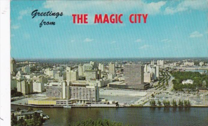 Greetings From Miami The Magic City Florida