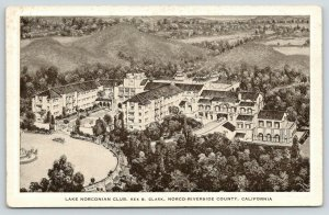 Norco-Riverside County California~Lake Norconian Club~Rex B Clark~1920 Artist PC