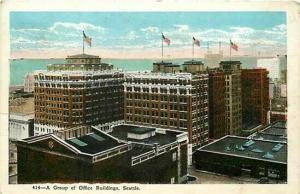 WA, Seattle, Washington, Office Buildings, Leland Lund 16113