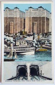 7 VINTAGE POSTCARDS OF NEW YORK - Printer: The Union News Co. UNUSED!!!