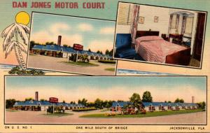 Florida Jacksonville Dan Jones Motor Court