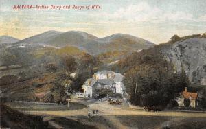Malvern British Camp and Range of Hills Panorama