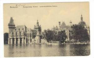 Budapest, Hungary 1911, Mezogazdasagl Muzeum