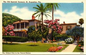 Florida St Augustine The Old Spanish Treasury
