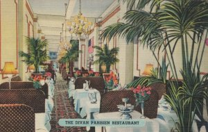 NEW YORK CITY,  New York, 1949; Divan Parisien Restaurant