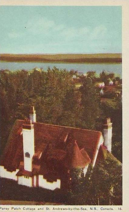 B4895 Saint Andrews by the sea and Pansy Patch Cottage not