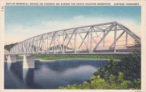 Butler Memorial Bridge On Higheway 421 Across The South Holston Reseroir East...