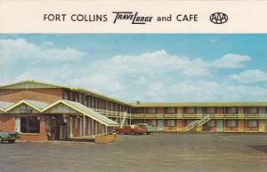 Fort Collins TraveLodge and Cafe,  Fort Collins,  Colorado,   PU_1967