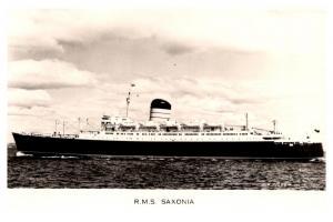 R.M.S. Saxonia ,  Cunard Line ,  RPC
