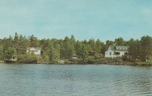 MONETVILLE , Ontario, 50-60s ; Lakair Lodge , Lake Nipissing