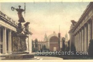 Fountain of Ceres, Court of four seasons 1915 Panama International Exposition...