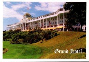 Michigan Macikinac Island The Grand Hotel Porch