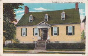 Virginia Fredericksburg Rising Sun Tavern 1941