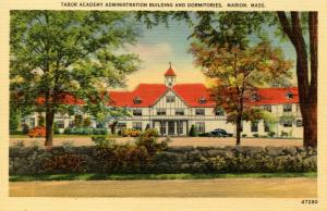 MA - Marion, Cape Cod. Tabor Academy Administration Building and Dormitories