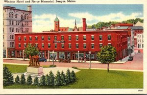 Maine Bangor Windsor Hotel and Pierce Memorial