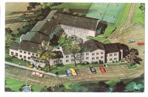 Aurora Treadway Inn Motel Ohio Postcard 1960's
