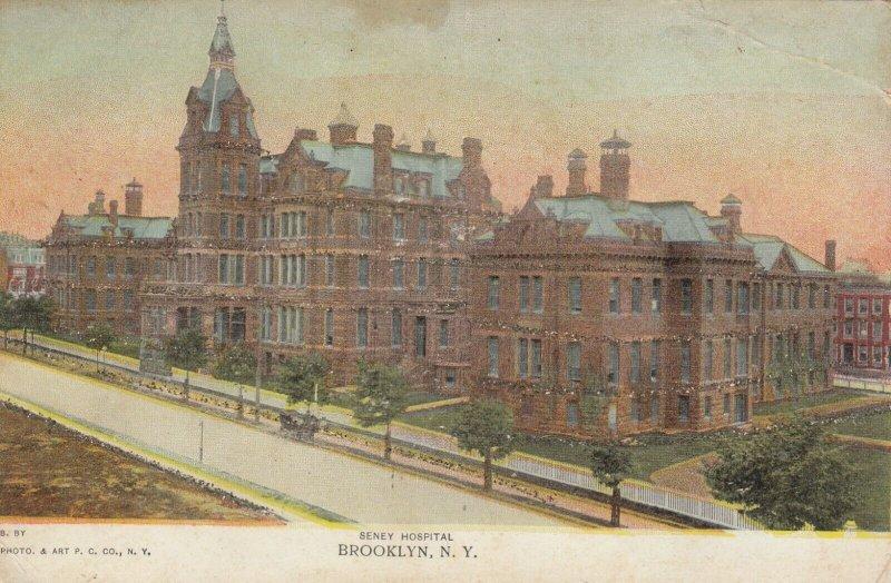 NEW YORK CITY, 1901-07 ; BROOKLYN , Seney Hospital