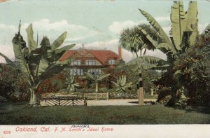 OAKLAND, California, 1900-10s; F. M. Smith's Ideal Home