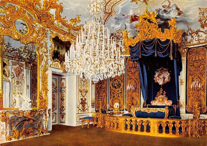 Koenigsschloss Linderhof Schlafzimmer, Royal Castle Bedroom Chandelier