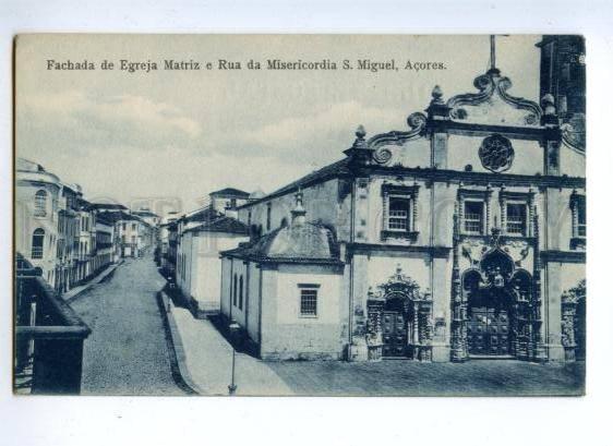 144752 PORTUGAL Azores ACORES S.Miguel Rua da Misericordia OLD