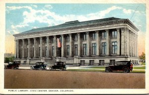 Colorado Denver Civic Center Public Library Curteich