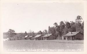 RP; Flying U Guest Ranch - Green Lake , B.C. , Canada , 1910s-20s