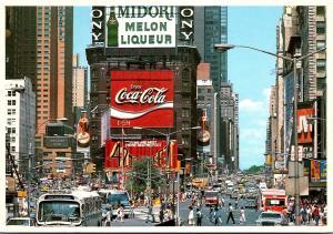 New York City Times Square Coca Cola Sign