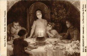 CPA Salon de Paris Mme A. BALL-DEMONT La Fete de l'Age de Reunion (867144)