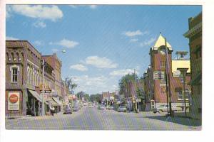 Downtown Business Section, Dresden, Ontario, Murray McKim