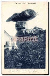Old Postcard Tregastel Le Champignon