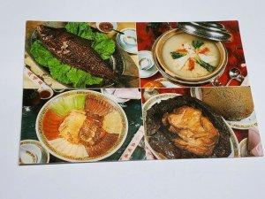 Spring Deer Restaurant Vintage Postcard Hong Kong