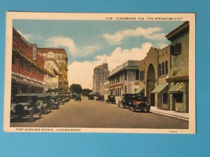 Vintage Ft. Harrison Avenue, Clearwater, Florida (FL-125)