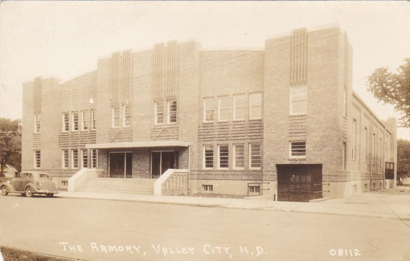 RP: The Armory , VALLEY CITY, North Dakota , PU-1938