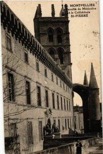 CPA  Montpellier - Le Faculté de Médecine-La tét la Cathédrale St-Pierre(510437)