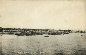 PC CPA IRAQ, RIGHT BANK, SHATT EL ARAB, VINTAGE POSTCARD (b16269)