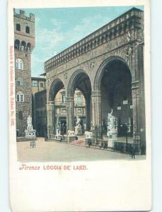 Pre-1907 LOGGIA Firenze - Florence Italy hJ6642
