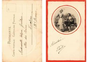 CPA Lustige Gesellschaft Meissner & Buch Litho Serie 1168 (730636)