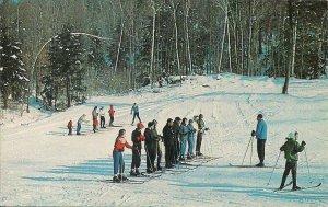 Charlemont MA, Thunder Mountain Ski Area, 1965, Mohawk Trail, Ski School, Skiing
