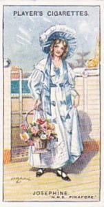 Player Vintage Cigarette Card Gilbert & Sullivan 2nd Series No 26 Josephine  ...