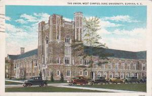 North Carolina Durham The Union West Campus Duke University 1935