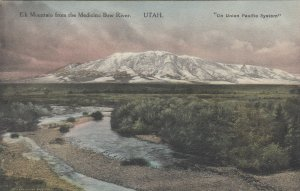 ELK MOUNTAIN , Utah, 1900-10s; From the Medicine Bow River