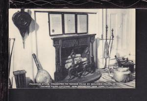 Stove,Paine Cottage,New Rochelle,NY Postcard