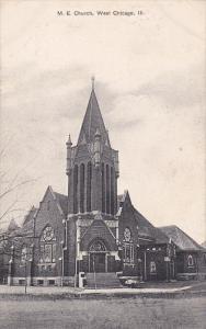 CHICAGO, Illinois, PU-1909; M. E. Church