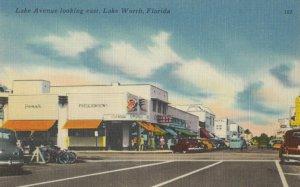 LAKE WORTH , Florida, 1930-40s ; Lake Avenue