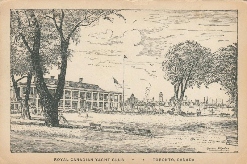 TORONTO, Ontario , 1936 ; Royal Canadian Yacht Club