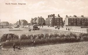 North Parade, Skegness, England, Great Britain, Early Postcard, Unused